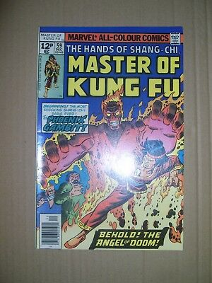Master of Kung Fu issue 59 Marvel Comics 1977 bronze age