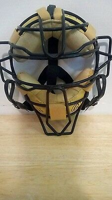 Rawlings Adult Solid Wire Umpire Mask, used