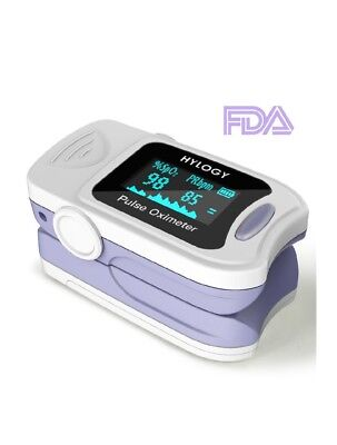 Pulse Oximeter Blood Oxygen Saturation Monitor with Carrying Bag BatteriesHylogy