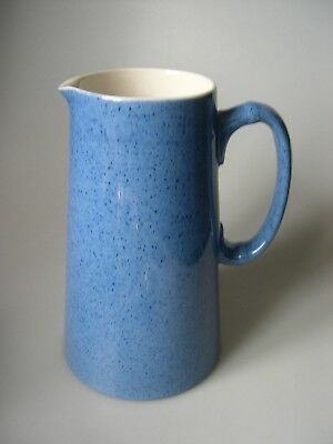 MOORCROFT POTTERY  Large Powder Blue Milk Jug - 1 1/2 pints