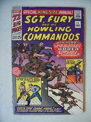 Sgt. Fury And His Howling Commandos Annual #1 Fine/f+