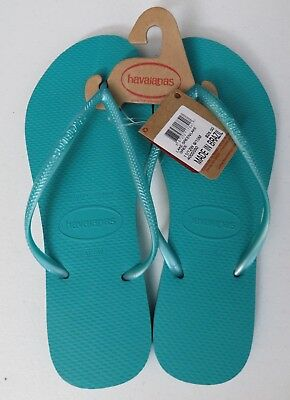 e7a624efb Havaianas Slim Women s and Men s Sandals Flip Flops Made In Brazil Lake  Green