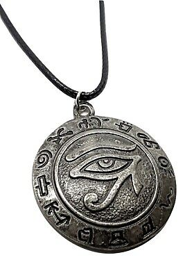 RARE EGYPT EYE Horus Egyptian Pendant Jewelry Necklace