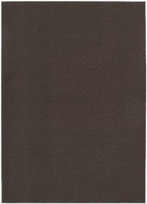 Garland Rug Town Square Area Rug, 7-Feet 6-Inch by 9-Feet 6-Inch, Chocolate