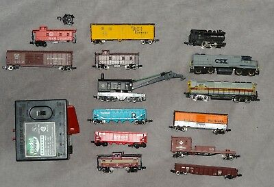 Atlas N Gauge Train engine and parts lot Baltimor and Ohio Erie Lackawanna