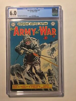 Our Army At War 17 CGC 6.0