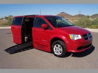 2013 Dodge Grand Caravan SXT Wheelchair Handicap Mobility Van 2013 Dodge Grand Caravan SXT Wheelchair Handicap Mobility Braunability