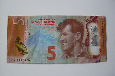 Top 5 Dollar Geldschein Neuseeland New Zealand Sir Edmund Millary