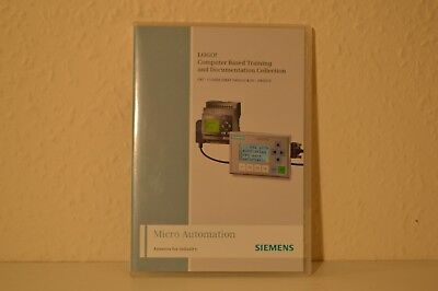 Siemens LOGO Computer Based Training & Documentation Collection Micro Automation
