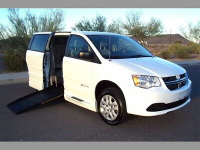 2015 Dodge Grand Caravan SE Handicap Wheelchair Mobility Van 2015 Dodge Grand Caravan SE Wheelchair Handicap Mobility Van Low Miles