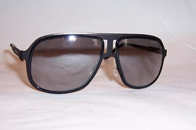 f3b4b55cdcd39a NEW CARRERA SUNGLASSES 101 S HKQ-IC BLACK SILVER MIRROR AUTHENTIC ...