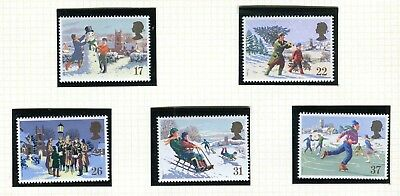 GB Stamps 1990 Christmas (SG 1526-1530) - MINT