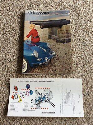1961 Porsche factory magazine Christophorus no. 36