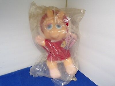 McDonalds Muppets Stuffed Baby Miss Piggy Doll 1988 Original Package Collectible