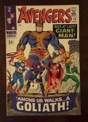 Avengers #28 (Marvel May 1966)/1st Goliath 1st Collector