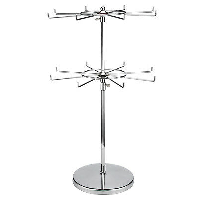 Polmart Two Tier Counter Top Spinner Display Stand S201