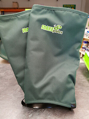 Snakeprotex Gaiters - 3rd Generation is now stronger, lighter and easier to wear