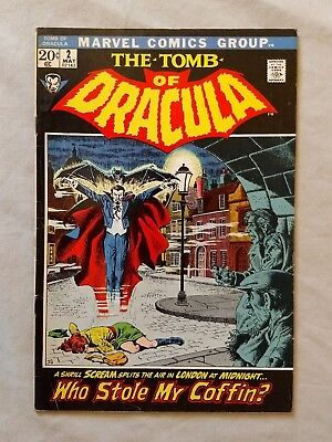 The Tomb of Dracula #2 1972  1st Series Marvel VF-