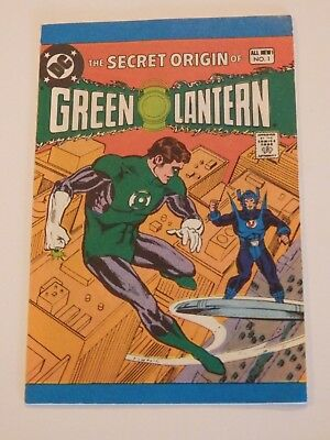 1980 Leaf Candy DC Comics The Secret Origin of Green Lantern Near Mint Condition