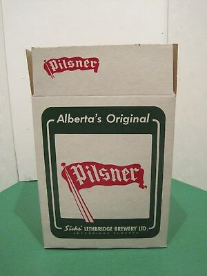 Old Style Pilsner 6 Pack Beer Box Never Used