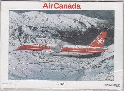 Air Canada - A320 Jigsaw puzzle promotional item,