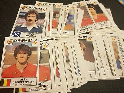 Panini World Cup 82 Espana Stickers Complete Your Album **Buy 1 get 1 50% off**