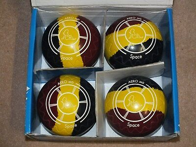 Aero SPACE RARE 3.5 H zig zag grip Bowls. Buy it now Free Postage