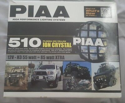 PIAA Fog Lamps 510 4in with wiring loom As New never used!!