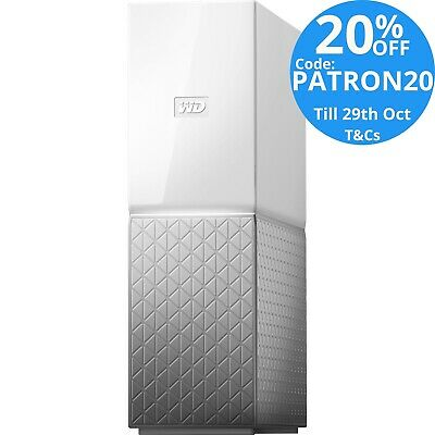 WD My Cloud Home 2TB Personal Cloud NAS Storage Server