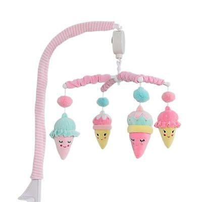 Living Textiles Ice Cream Musical Baby Cot Mobile