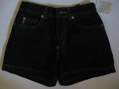 Nwt Vintage Girls 10 Guess Style 13914 Black Shorts Authentic Original Design