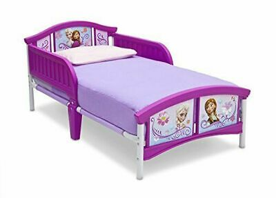 Delta Children Disney Frozen Plastic Toddler Bed, for Ages 15+ mos Easy Assemble