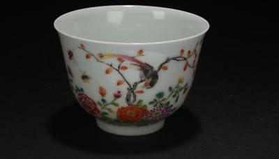 A Chinese Nature-sceen Spring-fortune Porcelain Cup Lot 65