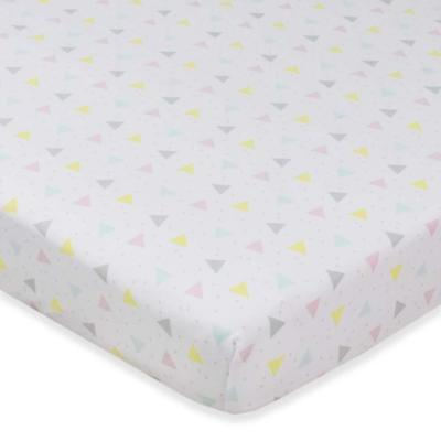 Living Textiles Cot fitted sheet Jersey Sprinkles