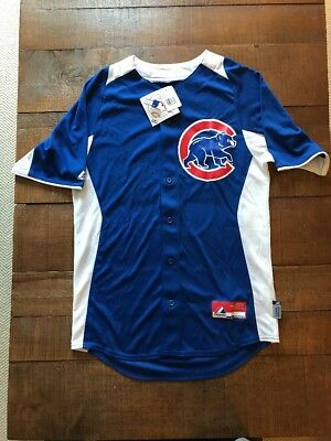 Chicago Cubs Majestic Cool Base Genuine MLB Jersey W/ Tags Size S Small