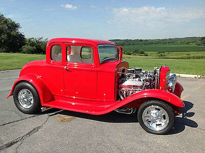 1932 Ford 1932 ford 5 window 1932 FORD 5 WINDOW COUPE BBC ALL STEEL Street Rod None Better NO Dollar Spared