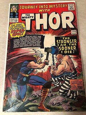 Journey Into Mystery #114 1st ABSORBING MAN Marvel Comics