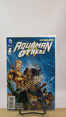 Aquaman & The Others #1 1:25 Rapmund Jurgens Variant Cover Nm Dc Comics 2014
