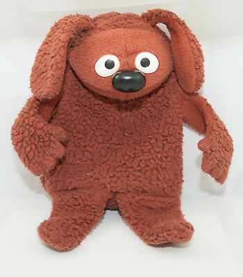 Vintage Fisher Price Rowlf Muppet Doll Hand Puppet 1977