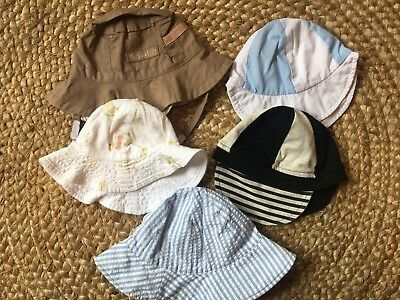 Assorted Baby Boy Hats ☀️