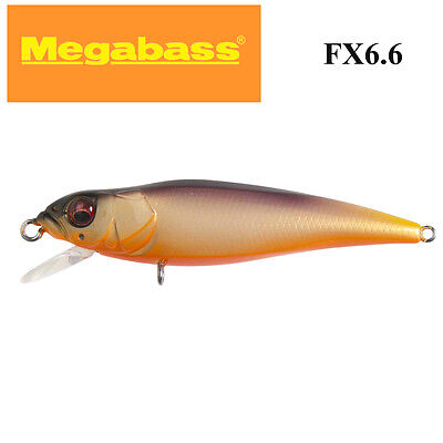 MegaBass FX6.6 JAPANESE REAL BAIT bream,trout lure 66.0mm; Rolling Mango