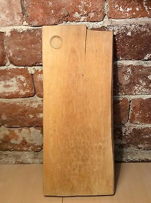 Vintage 20 years old French Wooden Bread Chopping Cutting Board Large