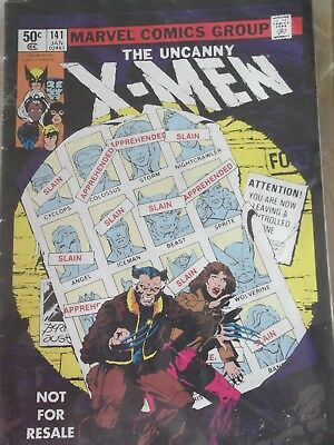 The Uncanny X-Men 141 . American pricing. Published 2005