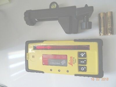 Leica LGSRE140 Rod Eye 140 laser Classic Receiver Laser Level With Bracket  New