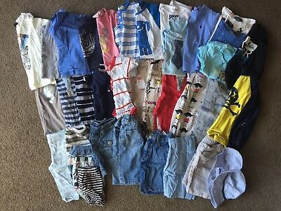 Boys Clothing Bundle Baby Toddler Size 000-2 Ralph Lauren Country Road Seed
