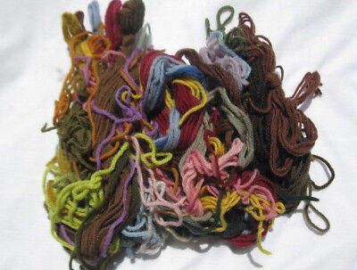 Tapestry - Embroidery wool 50g Oddments