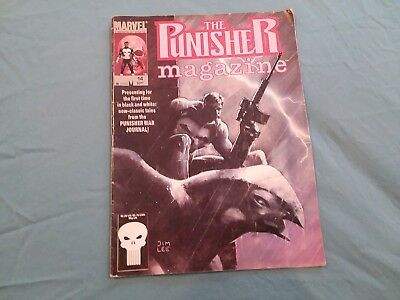 The Punisher Magazine from Marvel Vol.1 Number 14 Sept. 1990 Comic
