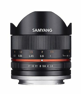 SAMYANG 8MM f2.8 II Fish-Eye Mise au point manuelle objectif pour Sony -E