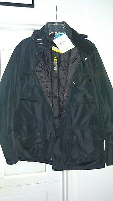 Barbour International water proof Men jacket Black in novative Sz M