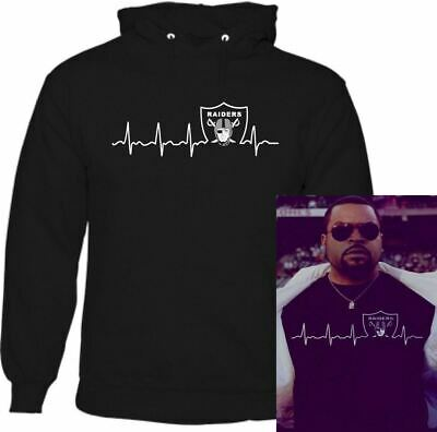 As Worn By Ice-Cube Pulse Oakland Raiders Hoodie NWA Straight Outta Compton Top